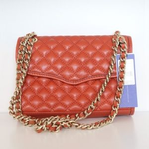 Rebecca Minkoff Quilted Affair Bag in Bittersweet